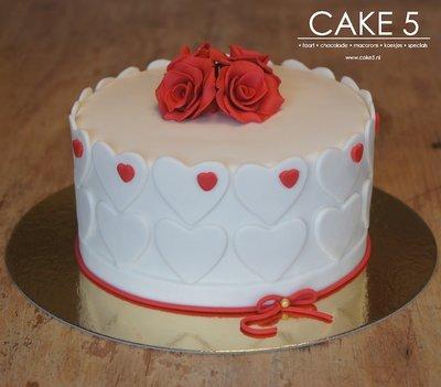 I Love you cake